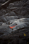 Hawai Framed Prints - Lava Framed Print by Ralf Kaiser