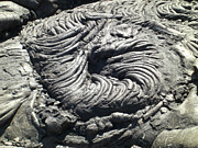 Whirls Framed Prints - Lava Swirl Framed Print by Deborah Smolinske