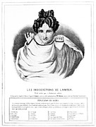 Traits Prints - Lavaters Physiognomy, 19th Century Print by