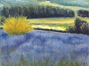Impressionism Originals - Lavender Field by Dennis Kirby