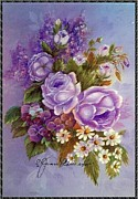Jordan Originals - lavender Roses by Jean Powers