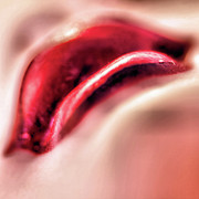 Bob Daalder Art - Lavish Lips by Bob Daalder