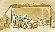 Respiration Prints - Lavoisier Experimenting Print by Science Source