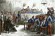 Revolutionaries Prints - Lavoisiers Trial, 1794 Print by Sheila Terry