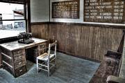 Law Man's Office - Molson Ghost Town Print by Daniel Hagerman