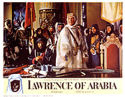 Negotiating Posters - Lawrence Of Arabia, Anthony Quinn Poster by Everett