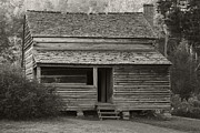 Log Cabins Prints - Lawsons Place II Print by Gary L Suddath