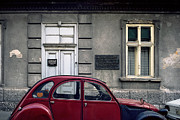 Abandoned Houses Prints - Lawyer. Belgrade. Serbia Print by Juan Carlos Ferro Duque