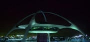Airport Architecture Prints - LAX Encounter Restaurant Print by Steve Williams