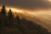 Smoky Mountains Photos - Layers of Light by Joseph Rossbach