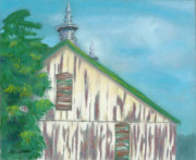 Old Barn Pastels - Layers of Years Gone By by Arlene Crafton