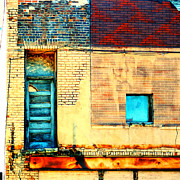 Brick Building Art - Lazarus by Rashelle Brown