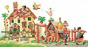 Food Drawings Prints - Lazinessland04 Print by Kestutis Kasparavicius