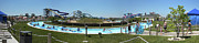 Lazy Digital Art - Lazy River Panorama at a Water Park by Thomas Woolworth