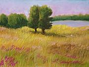 Rural Landscapes Pastels - Lazy Summer Day by Wynn Creasy