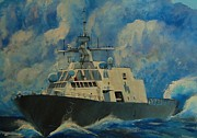 Fort Worth Painting Prints - Lcs 3 Print by Jane  Harris
