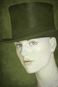 Victorian Photo Originals - Le Chapeau by Sophie Vigneault