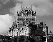 Traditionell Metal Prints - Le Chateau Frontenac - Quebec City Metal Print by Juergen Weiss