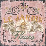 Le Jardin 1 Print by Debbie DeWitt
