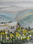 Mount Lebanon Paintings - Le Liban Perdu 2 by Marwan George Khoury