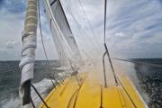 Splash Photo Originals - Le Pingouin Charging Upwind by Dustin K Ryan