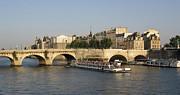 Le Pont Neuf. Paris. Print by Bernard Jaubert