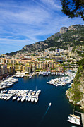 Monaco Art - Le Port De Fontvieille by Patrice Coppee