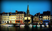 Calvados Framed Prints - Le Port de Honfleur Framed Print by Susie Weaver