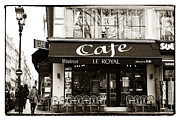 Outdoor Cafe Photo Prints - Le Royal Print by John Rizzuto