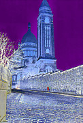 Abstract - Le Sacre Coeur by Chuck Staley