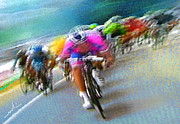 Cyclisme Art - Le Tour de France 09 by Miki De Goodaboom