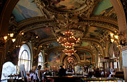 Belle Epoque Photo Prints - Le Train Bleu Print by Andrew Fare