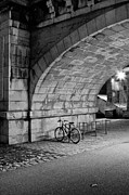 Black And White Photography Photos - Le Vélo by I hope you