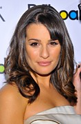 Lea Michele Photos - Lea Michele At Arrivals For Billboards by Everett