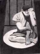 Emotional Drawings - Lead Role in a Cage by Justin Dierdorf