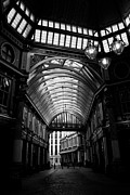 Ripper Prints - Leadenhall Market Black and white Print by David Pyatt