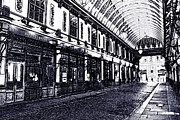 Victorian Digital Art - Leadenhall market by David Pyatt
