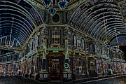 London England  Digital Art - Leadenhall Market London by David Pyatt