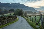 Langdale Framed Prints - Leading Lines Framed Print by Brian Kerr Photography