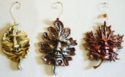 Decor Reliefs - Leaf Folk set three by Amanda Martin