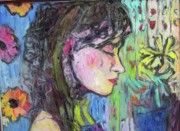 Leahannah Up Close Print by Mykul Anjelo