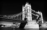 Great Britain Art - Leaning Tower Bridge by John Rizzuto