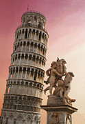 Leaning Building Framed Prints - Leaning Tower Framed Print by Dan Breckwoldt