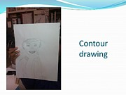 Drawing - Learning Contour Drawing by Carol Rashawnna Williams