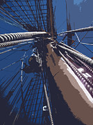Victoria Prints - Learning The Ropes Print by Travis Crockart