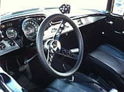 Chevelle Paintings - Leather Interior by Tammy Rekito