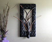 Trend Sculptures - Leather Vine I by Michael Ediza