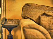 Couch Photos - Leave A Message by Valerie Morrison