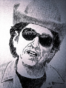 Bob Dylan Art - Leave at Your Own Chosen Pace by Robbi  Musser