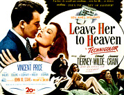Hands To Face Posters - Leave Her To Heaven, Cornel Wilde, Gene Poster by Everett